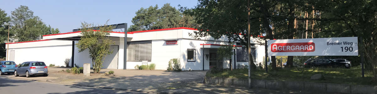 Agergaard production site Celle Germany