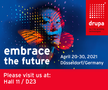 drupa Banner - Embrace the future